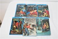 (6) Hardy Boys Books