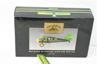"John Deere Die Cast Model Airplane 12""x8"""