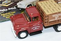 """ERTL Die Cast Stake Truck 9"""" Long"""
