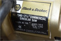 "Black & Decker 7 1/4"" Commercial Circular Saw"