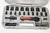 Husky 33-Piece Fits All Socket Set with Case