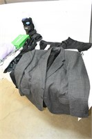 Large Group of Assorted Clothing, Air Cast,