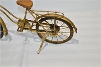 "Metal Décor Bicycle, 19"" long"
