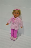 """American Girl Style Doll, 18"""" Tall"""