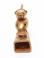 Pre-Columbian Gold Sinu Tumbaga Toucan Bird Finial