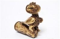 Pre-Columbian Gold Sinu Owl Bird Finial