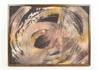 Abstract Batique Framed