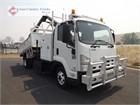 2012 Isuzu FRR500 Crane Truck