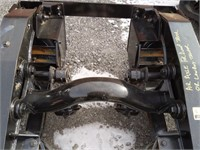 Air Axle for dump or low boy trailer