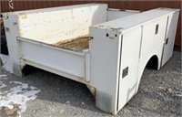 8ft utility bed with doors on both sides