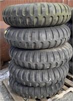 Military tire on 10 lug rim