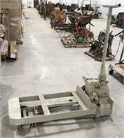 Vintage Yale Heavy Equipment Floor jack