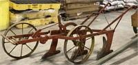 Antique Horse drawn 3 bottom plow