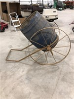 Antique Horse Drawn Barrel butter Churn Cart