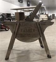 Early Service Washer. Geneva Mfg Co.