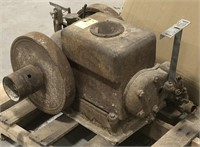 Hit miss engine. Engine # 405759 model # B11.2.