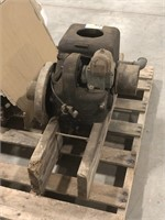 1.5 HP Fairbanks Morse type D engine. 1500 pulley