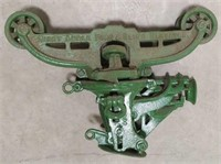 Vintage Right  Angle Fork & Sling Elevator Trolley
