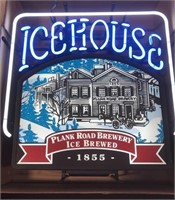 Advertisment Icehouse neon sign