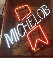 Advertisement Michelob Ribbon neon sign