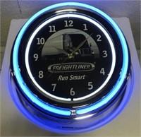 Advertisement Freightliner neon clock