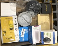 Lot of electronics, includes eAlarm, wireless