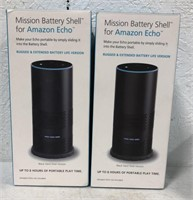 Mission battery shell for Amazon echo