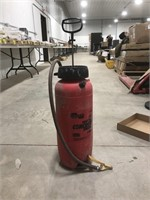 The Poly Industrial concrete sprayer