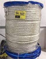 """1/2"""" x 600' nylon rope"""