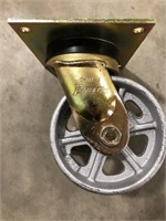 Swivel casters with brake, 1000 Lb