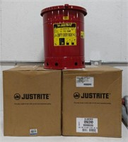 Justrite 10 Gallon Oil Waste Can Model 09310