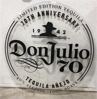 70th anniversary Don Julio 70 Advertising sign