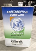 Synthetic polyol ester refrigeration lubricant. 1