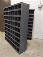 Durham parts bin with 72 slots