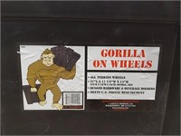 "Gorilla On Wheels 37""L x17"" 1/2"" W x 14"" H"