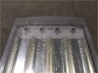 4 bulb fluorescent ceiling light