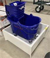 Mop bucket and sink