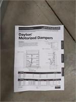Dayton Motorized Damper
