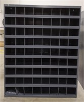 Durham parts bin with 72 slots