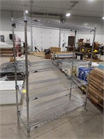 Metro adjustable wire shelving unit