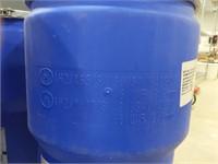 14 gal. Blue Polyethylene Open Head Transport