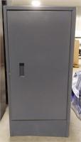 "Metal cabinet with inside shelf  32"" x 24"" deep x"