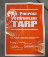 5.1 mil Polyethylene Tarp 38' x 59'