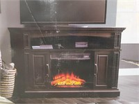 """NOS Whalen Media Fireplace Console fits 65"""" flat"""