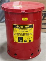 NOS Justrite Oily Waste Can model 09310