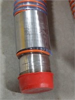 30' suction hose with steel coupler