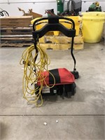Sanitaire wide area sweeper