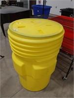95 gal. Yellow Polyethylene Open Head Overpack