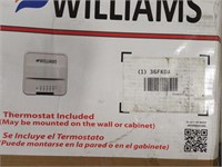 """Williams Matchless Piezo Top Vent Wall Heater16"""""""