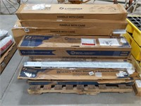 Large pallet of Lithonia fluorescent wall bracket